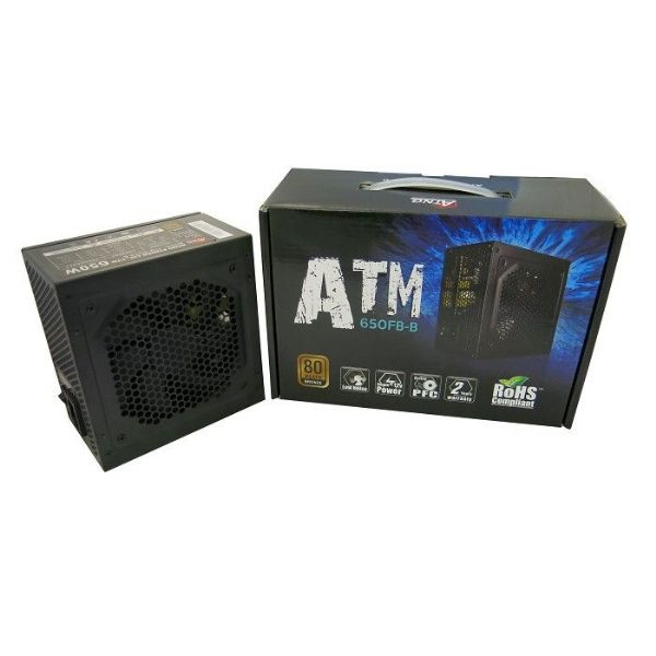 ATNG 650W 80+ Bronze ATX Power Supply Retail